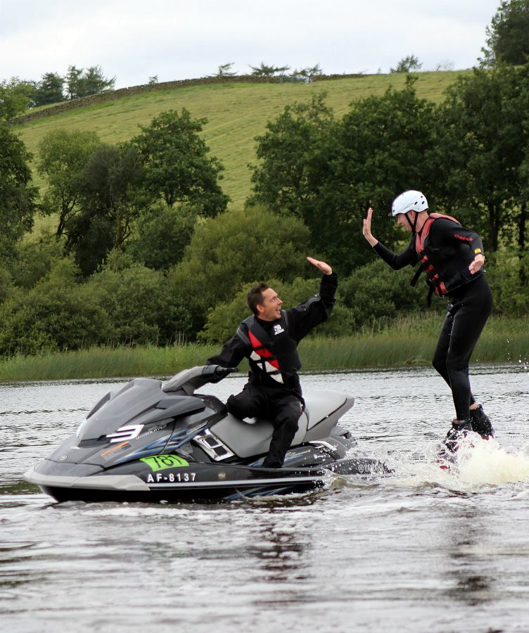 Combined Flyboarding and Jet Ski Package
