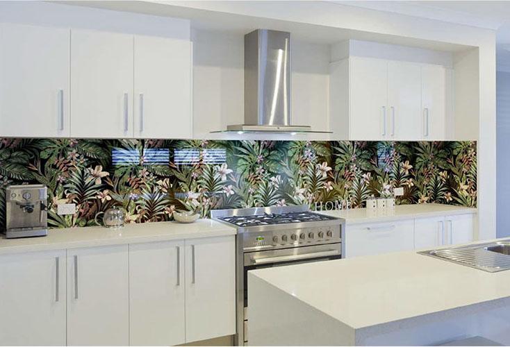 Bespoke Glass Splashbacks London, Coloured Glass