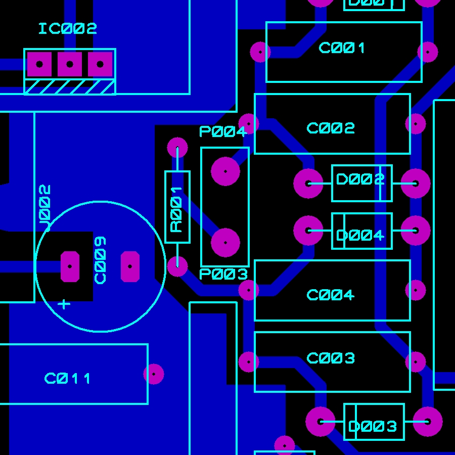 Astral Sonic Technology - custom design pcb artwork