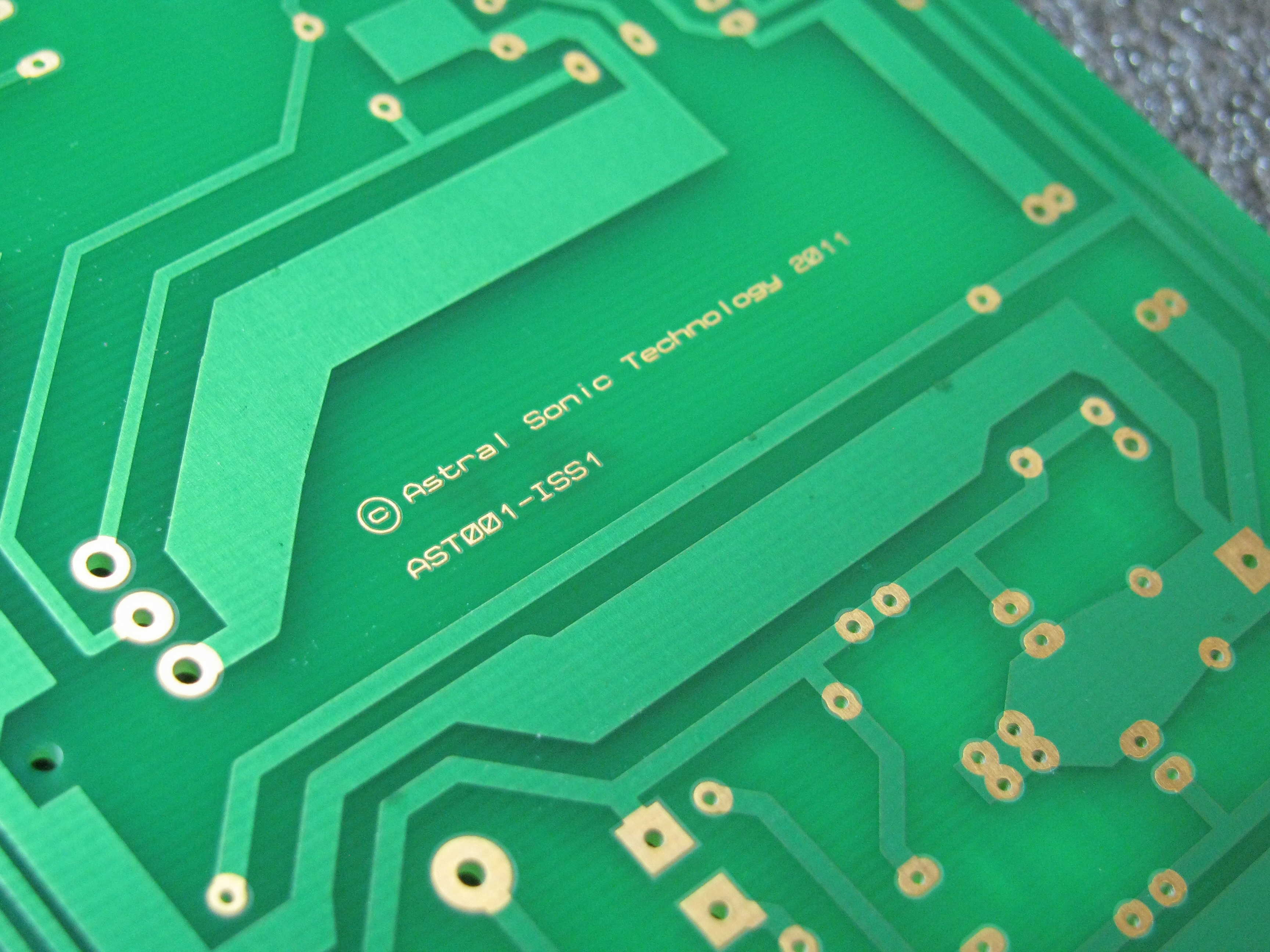 Astral Sonic Technology - custom design pcb