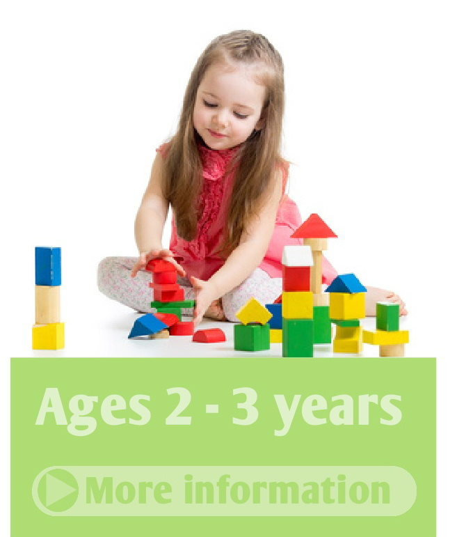 Quality child care for children aged 2 to 3 years at Langholm Play Care Dumfries and Galloway Scotland