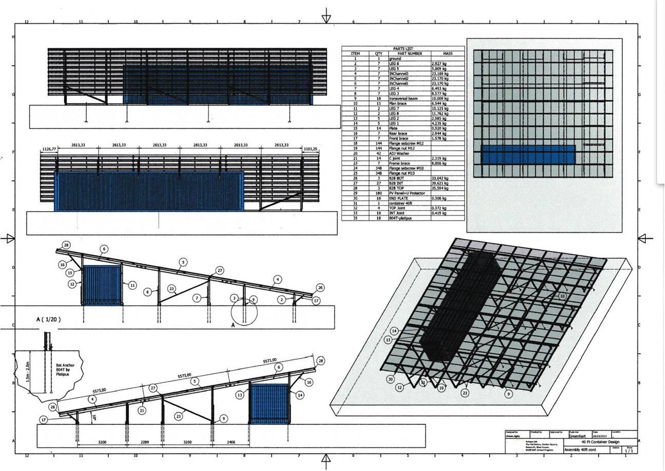 Conteneur et structure for Structure conteneur