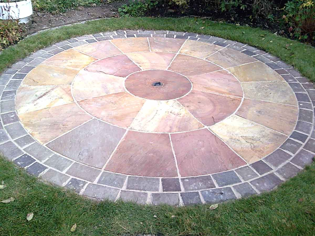 Portfolio for Garden designs with stone circles