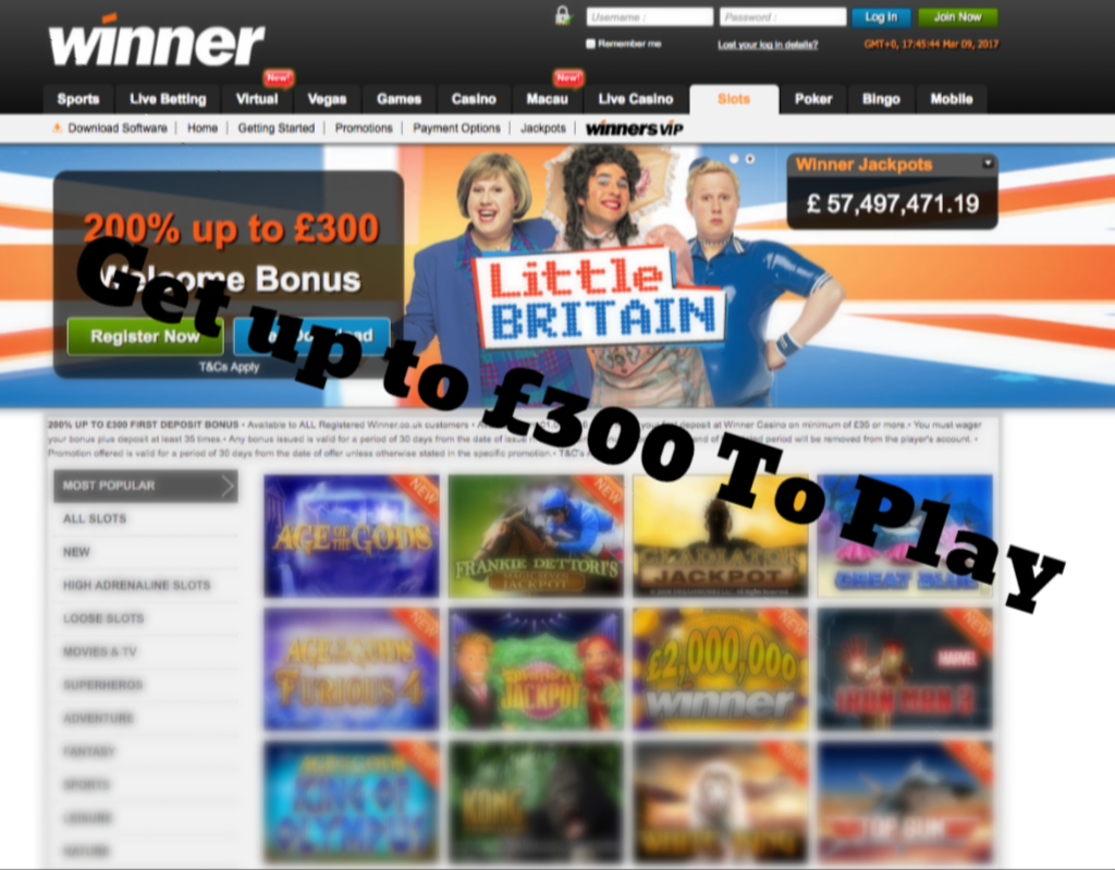 casino sites free signup bonus