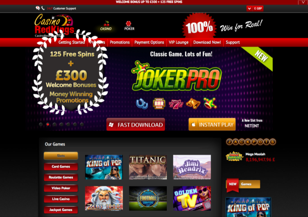 Redkings casino bonus codes what is the best online slot games