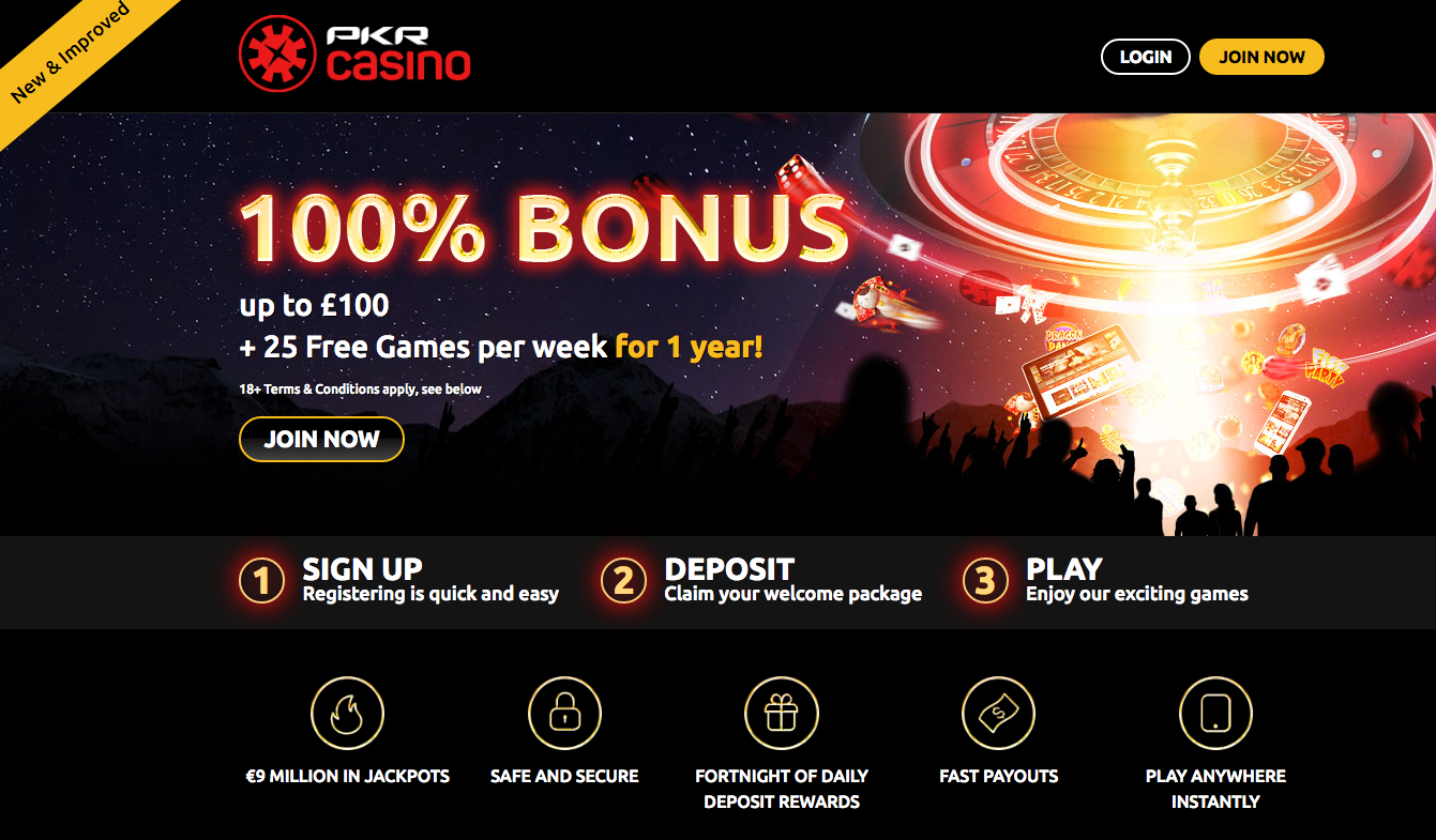 PKR online casino review