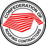 Logo of the Confederation of Roofing Contractors of which Seal It Roofing is a member