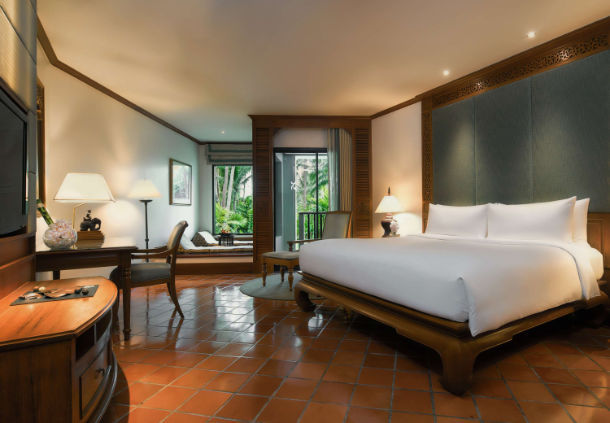 Accessible JW Marriott Hotel Phuket Bedroom