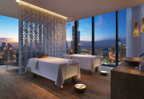 Accessible Marriott Renaissance Dubai Spa