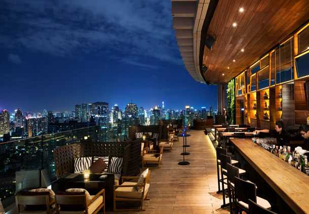 Accessible Marriott Bangkok Sukhumvit Roof Bar