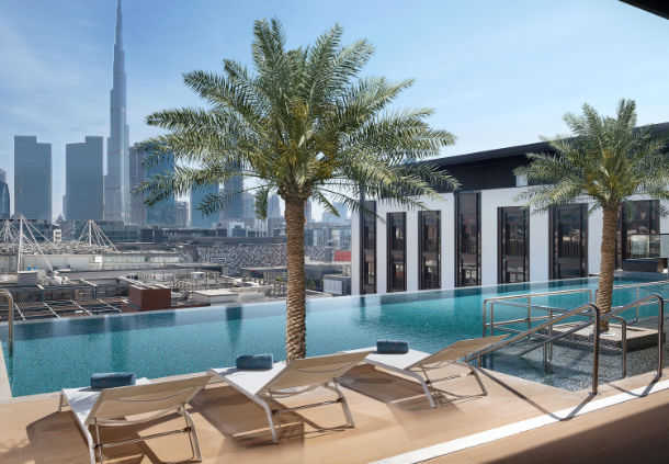 Accessible Marriott Hotel La Ville Dubai Pool