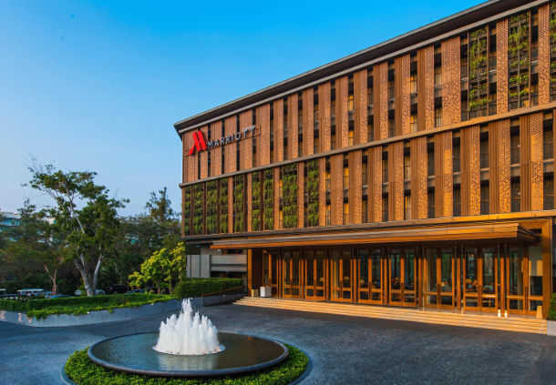 Accessible marriott Hotel Hua Hin Exterior