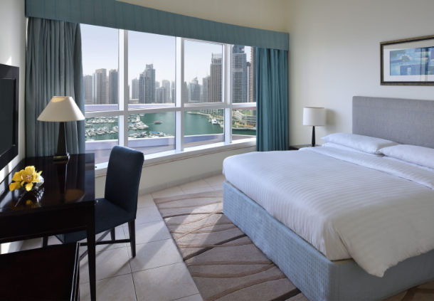 Accessible Marriott Suites Dubai Harbour suite