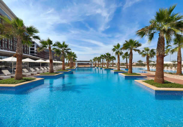 Accessible Marriott Hotel Abu Dhabi Outdoor Pool
