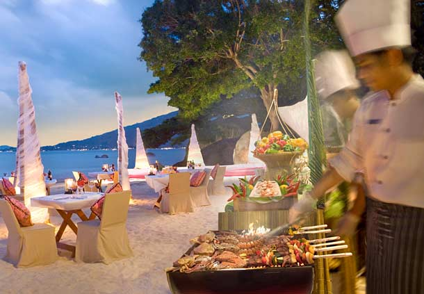 Marriott Hotel Koh Samui Beach BBQ