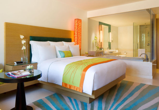 Accessible Marriott Renaissance Phuket Bedroom