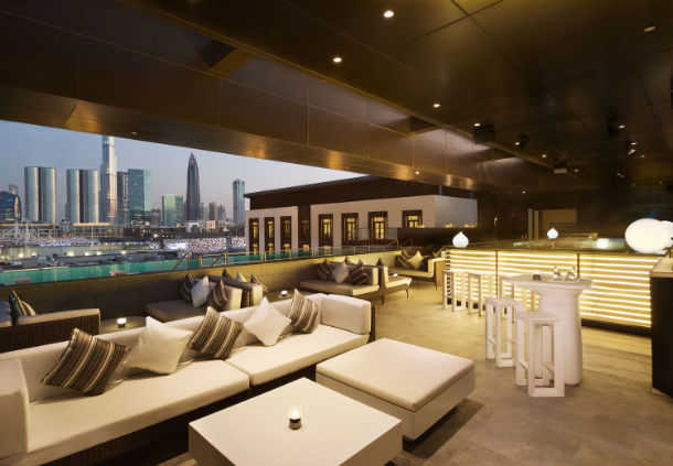 Accessible Marriott Hotel La Ville Dubai Roof Bar