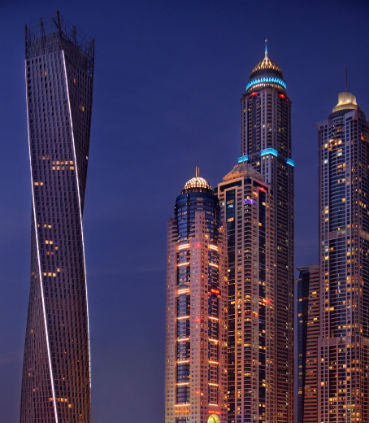 Accessible Marriott Suites Dubai Harbour Exterior
