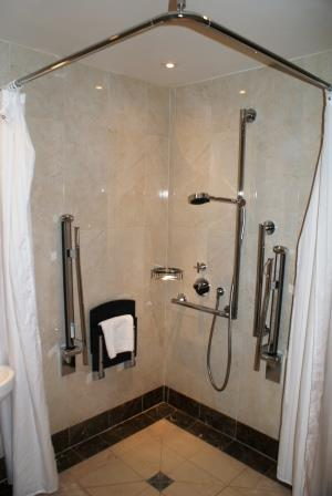 rockliffe accessible shower