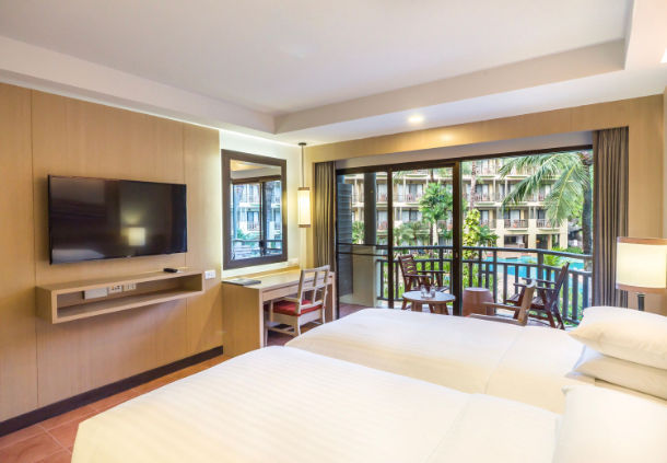 Accessible Marriott Hotel Phuket Bedroom