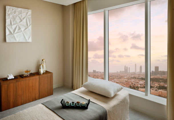 Accessible Marriott Hotel Abu Dhabi Treatment view