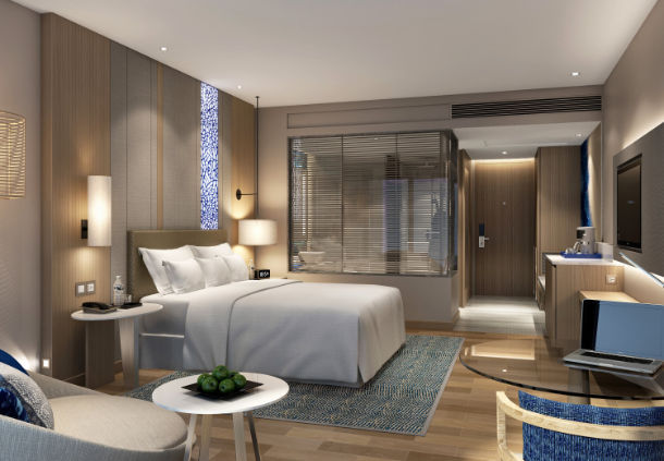 Accessible Marriott Renaissance Pattaya King Bed