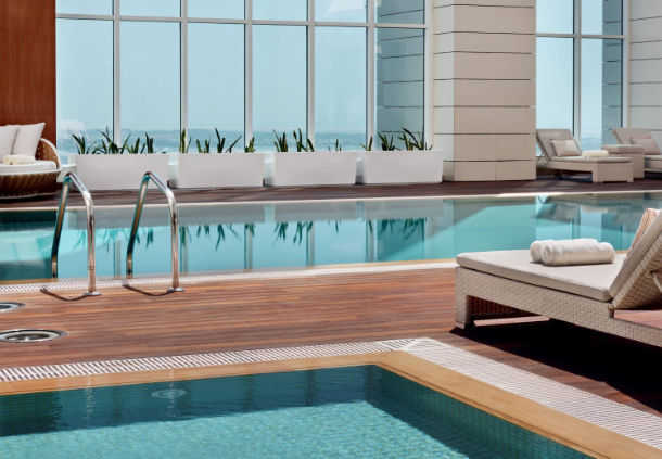 Accessible Marriott Hotel Abu Dhabi Pool