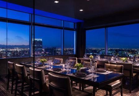 JW Marriott LA Live Accessible Hotel dining