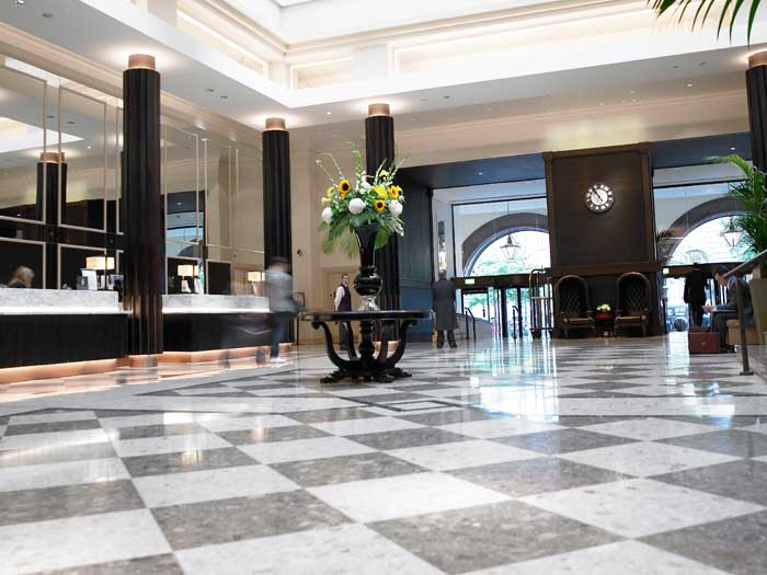accessible hotel midland manchester lobby