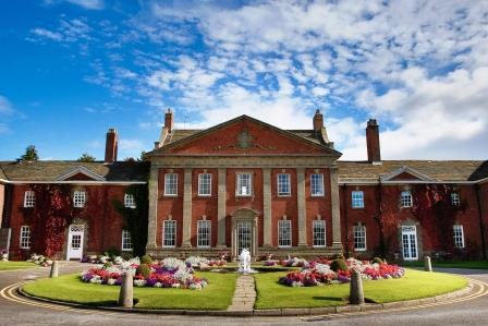 Mottram Hall Accessible Hotel Front image