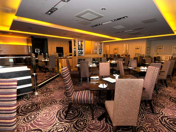 Accessible Q Hotel Nottingham dining