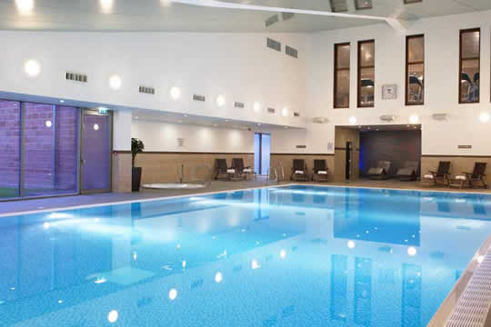 accessible hotel crewe hall pool