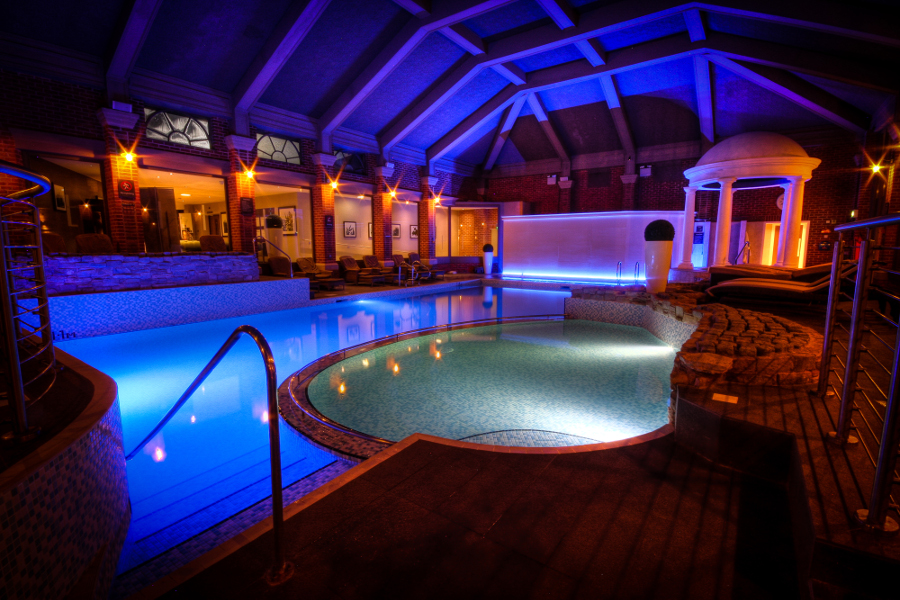 Mottram Hall Accessible Hotel pool