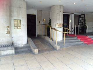 accessible hotel queens leeds entrance ramp