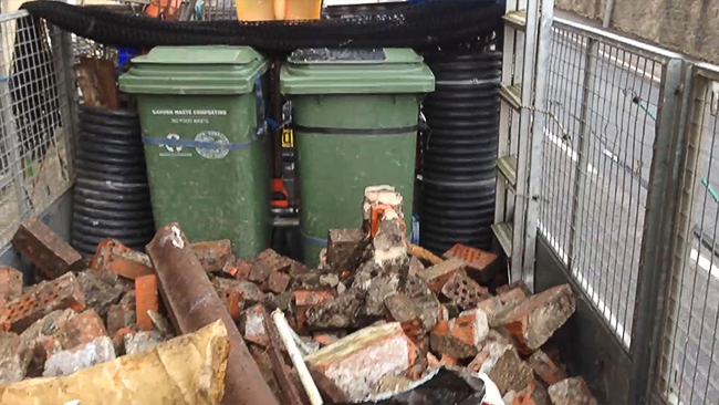 builders waste clearance london