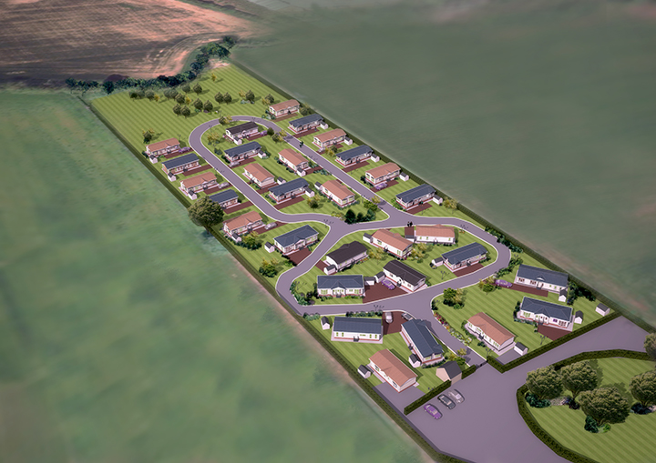 Ashdown Park Homes layout