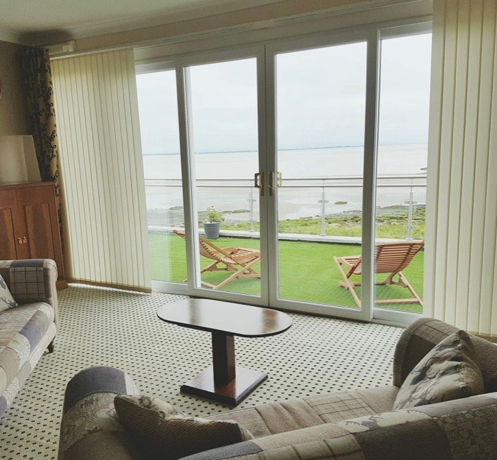 The Powfoot Hotel near Annan offers spectacular views over the Solway Firth