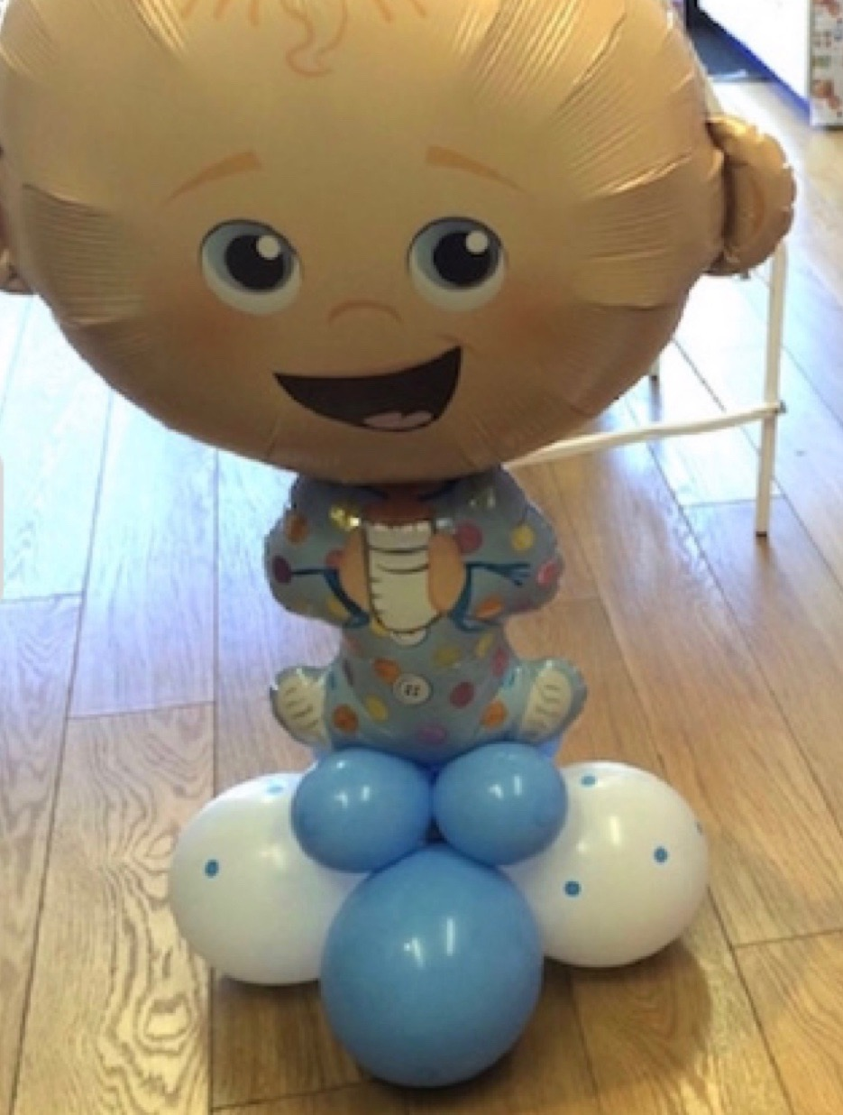 cute baby balloon