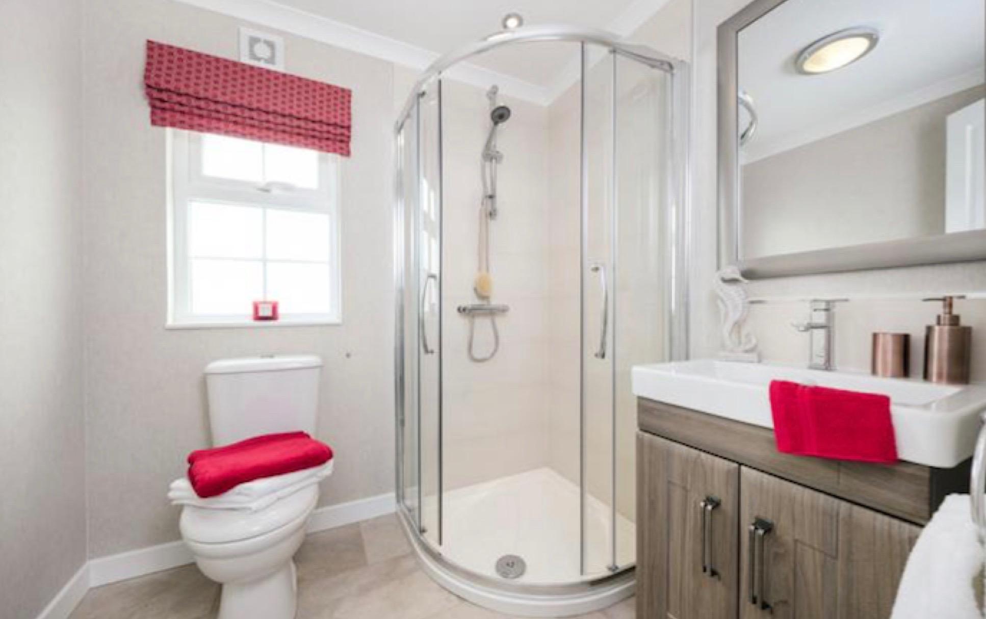 Beautiful Park Home Bathrooms