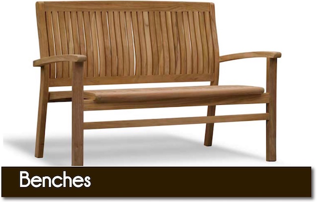 Quality garden benches from Surrey Hills Country Gardens of Cranleigh.