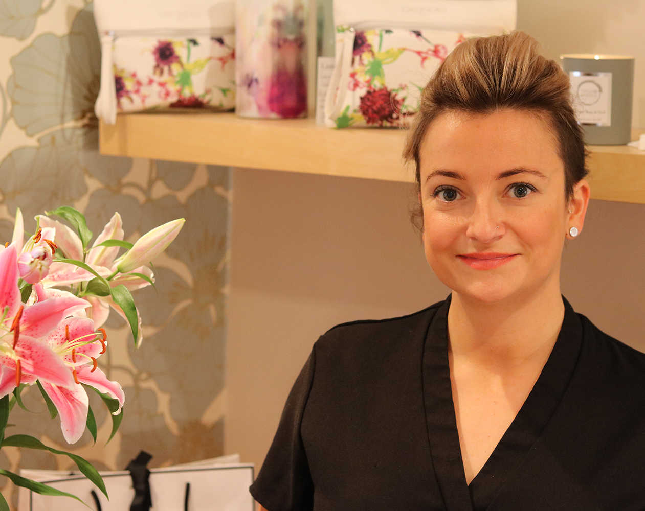 Photo of Lilly Cumming, owner and founder of Lilly's Beauty Room, Harpenden