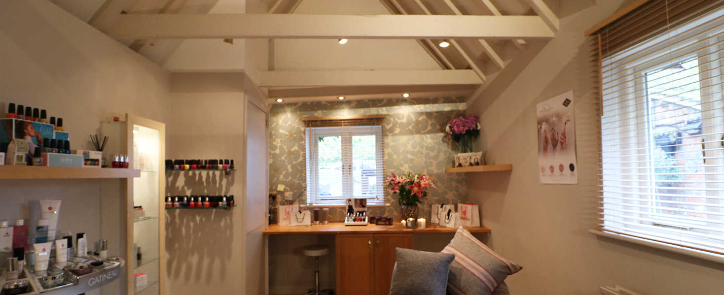 Lilly's Beauty Room, Harpenden, offering a range of beauty treatments for women, right in the centre of town