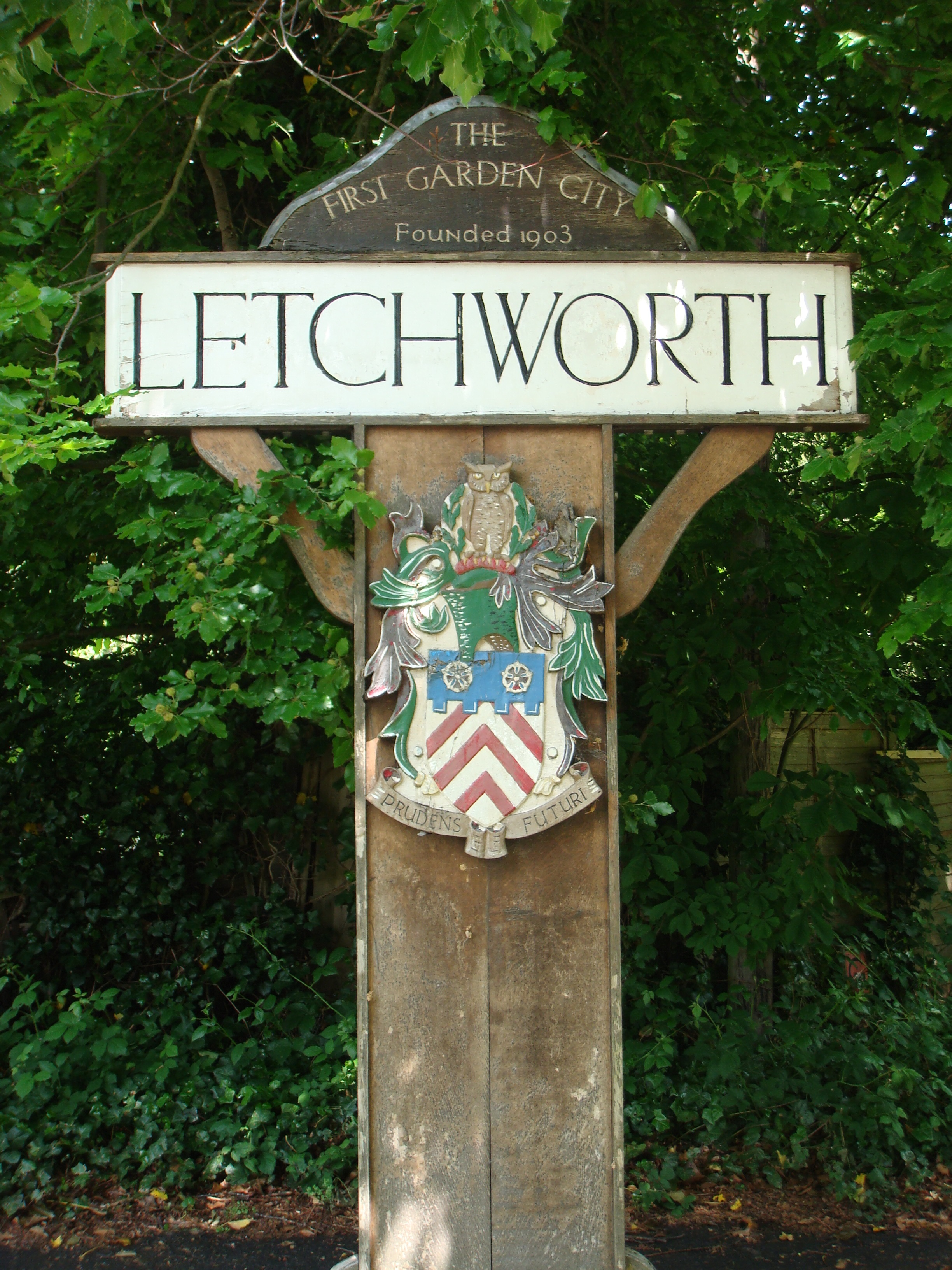 Letchworth Sign