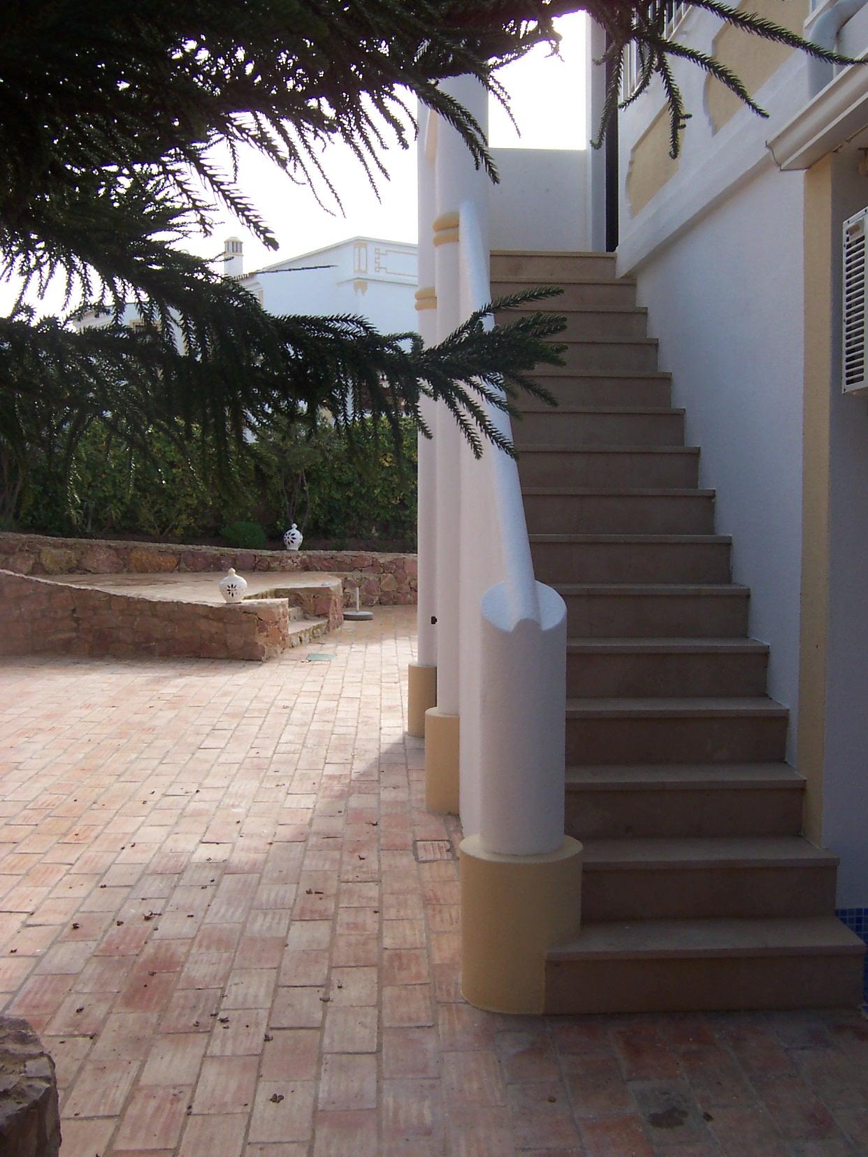 Villa Algarve Annexe Steps