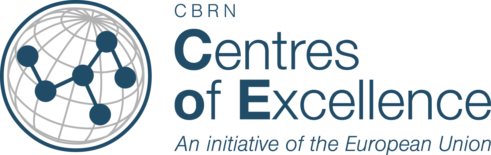 CBRN Centres of Excellence logo