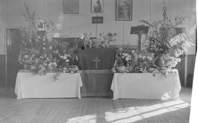 Harvest service in 1950