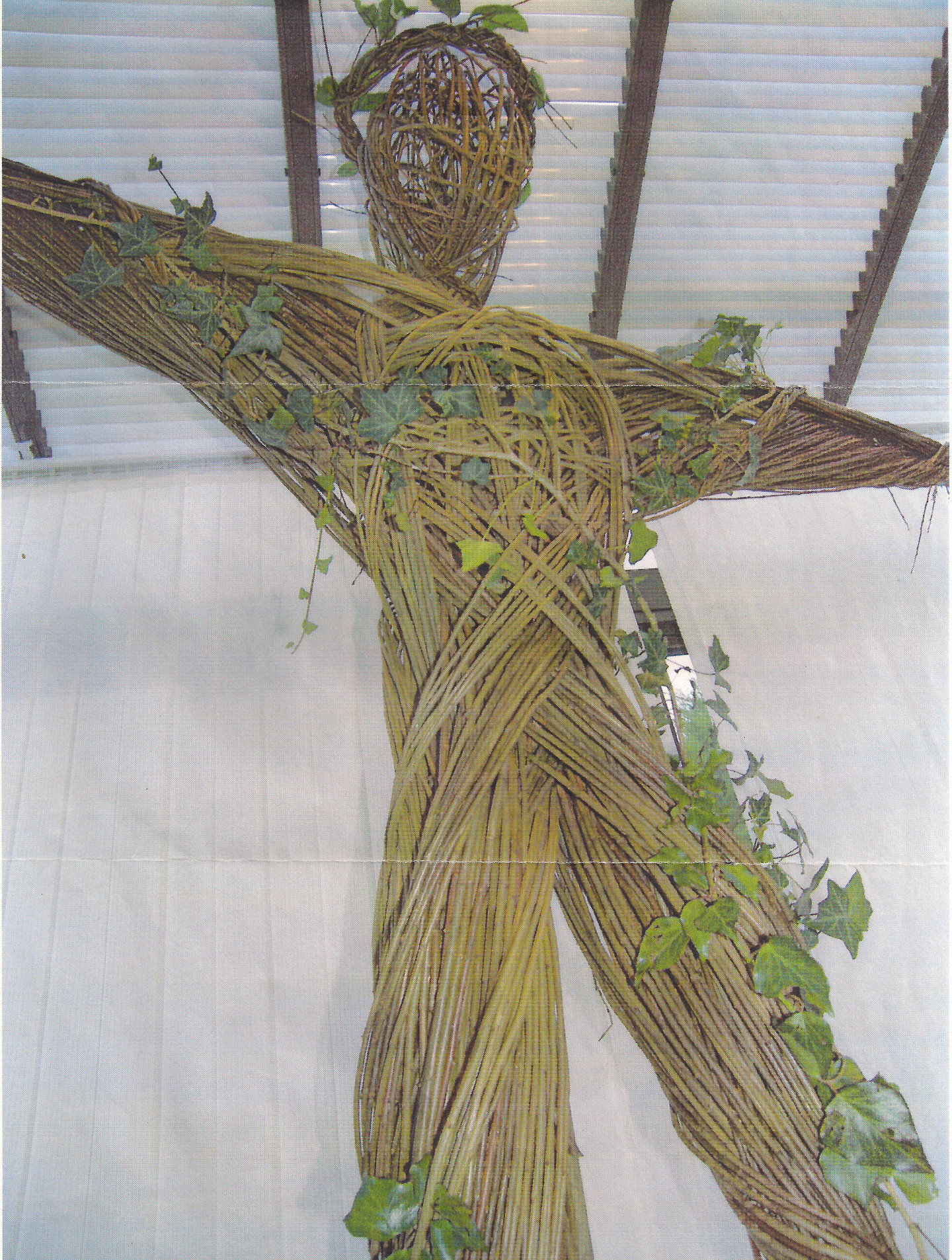 A Student made St John on the cross