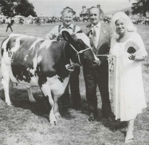Diana Dors at The Wigtown Show