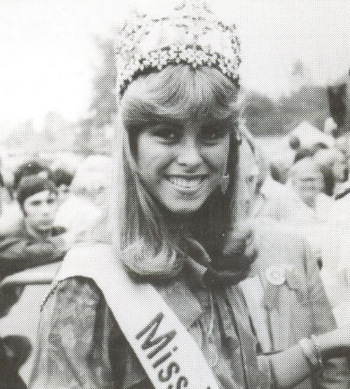 1982 Miss World at The Wigtown Show in the same year