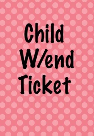 Rockstock Autumn Gathering Weekend Ticket Child